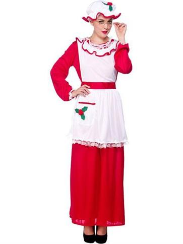 Mrs Santa Claus  Adult Costume  Party Delights
