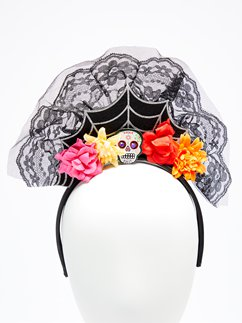 Day of the Dead Headpiece - 12cm tall