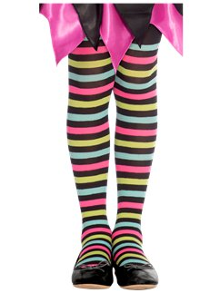 Miss Match Witch Tights - 3-5 years