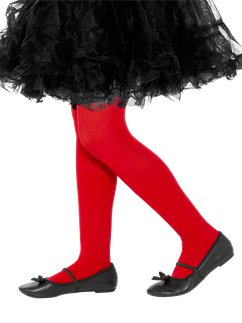 Red Tights - Child 11-14yrs