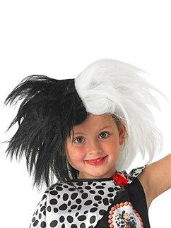 Childs Disney Cruella Wig