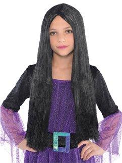 Child's Black Witch Wig