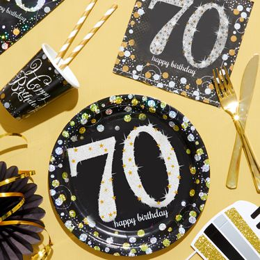 70th Birthday Party Themes  Ideas  Party Supplies