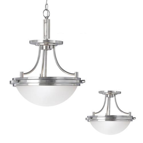 Sea Gull Lighting - 77660-962 - Winnetka - Two Light Convertible Pendant