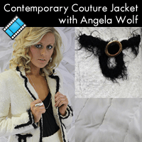 The Contemporary Couture Jacket! Class Fee: On Sale! $29.00 (Regular: $69.00)