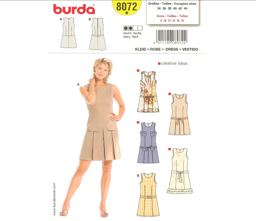 Image result for burda 8072
