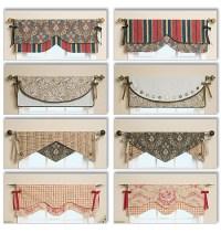 Butterick 5582 Reversible Window Valance sewing pattern