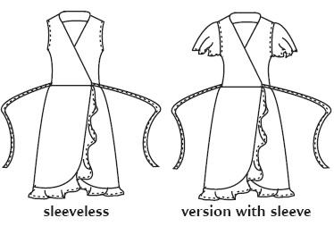 Favorite Things L017 Little Wrap Dress sewing pattern