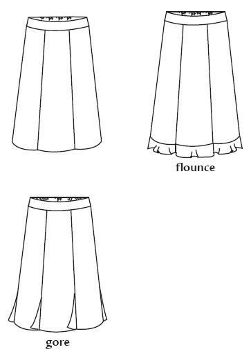 Favorite Things V023 Cute Skirts