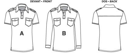 polo shirt pattern