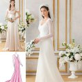 Wedding bridesmaid bridal formal gown dress sewing pattern simplicity