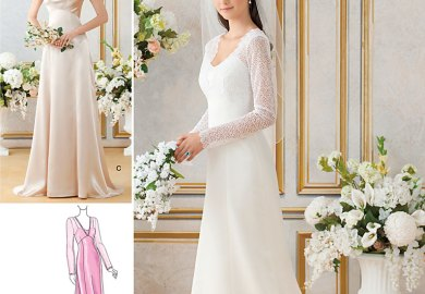 Easy Wedding Dress Patterns