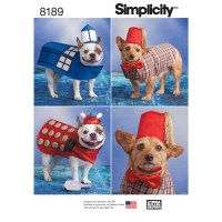 Simplicity 8189 Dog Costumes in Three Sizes