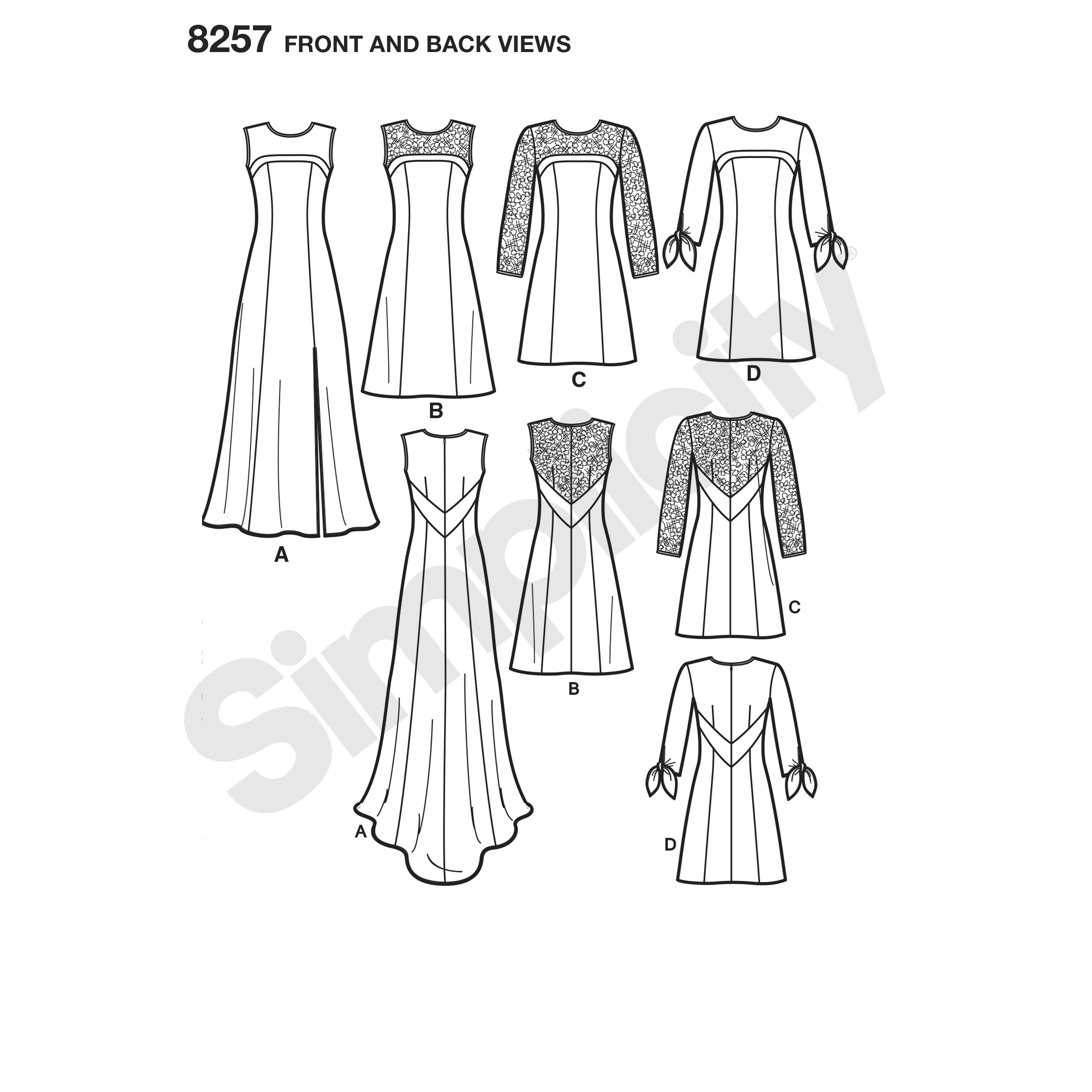 Simplicity Simplicity Pattern 8257 Misses' Special