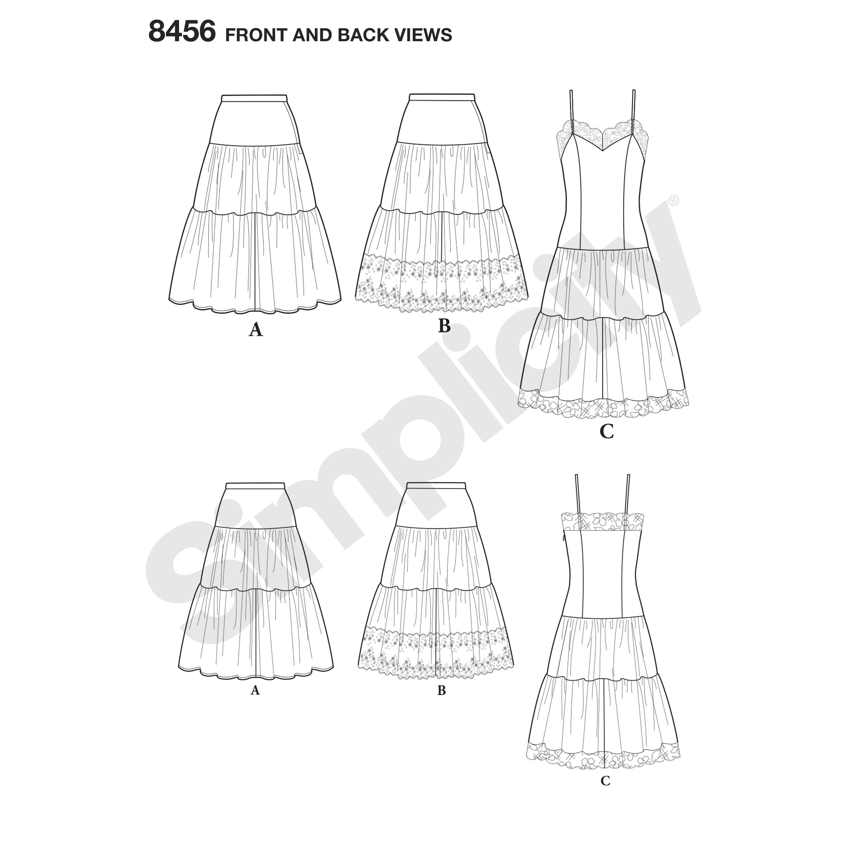 Long Skirt Simplicity Patterns   Wiring Diagram Database