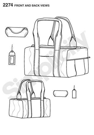 Simplicity 2274 Bags