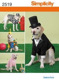 Simplicity 2519 Pet Costumes