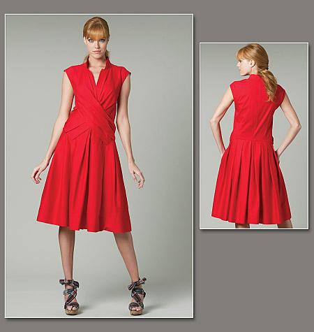 DKNY, dress, Vogue