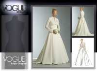 Vintage Vogue Wedding Dress Patterns