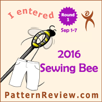 Sewing Bee 2016 - Round 1