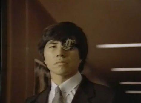 Sho Kosugi with an eyepatch