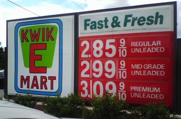 Kwik E Mart Sign