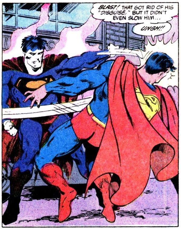 Superman fights 1