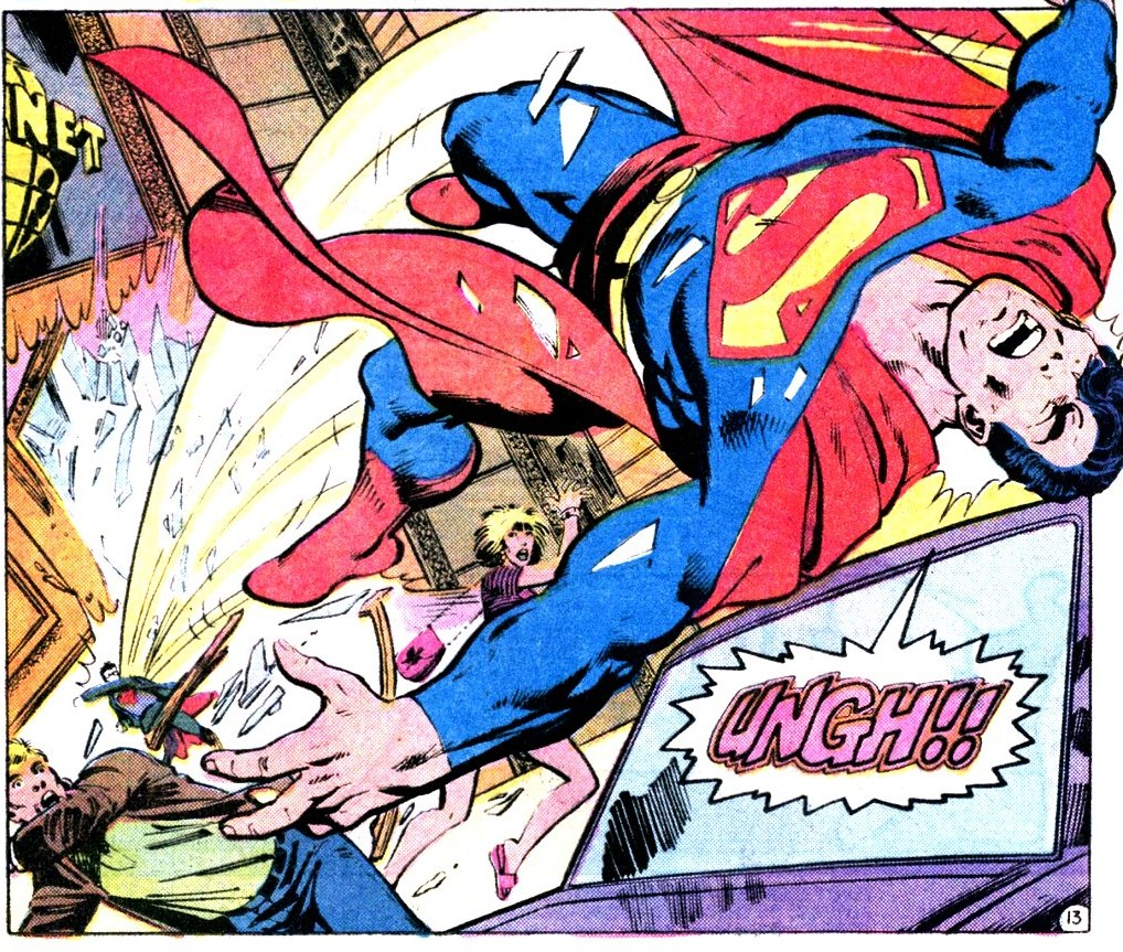 Superman fights 6