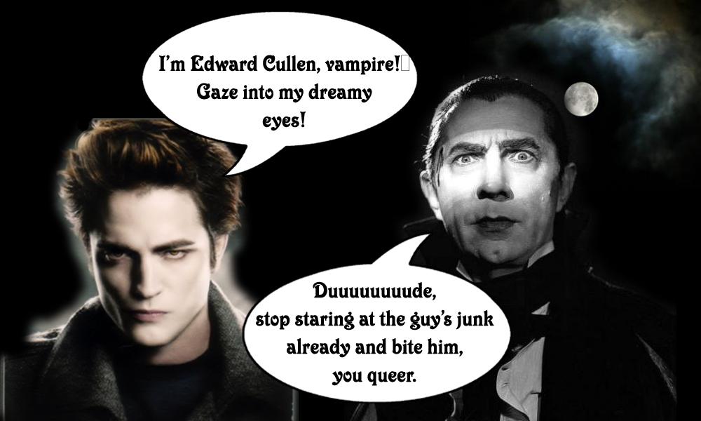 Edward and Dracula
