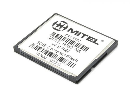 Mitel 5000 1GB Compact Flash Card (841.1152) (License
