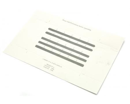 NEC 124i/384i 28-Button Paper Designation