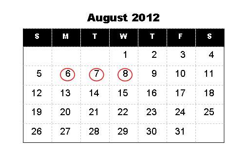 Hoover High School: HCS School Year Calendar for 2012-2013