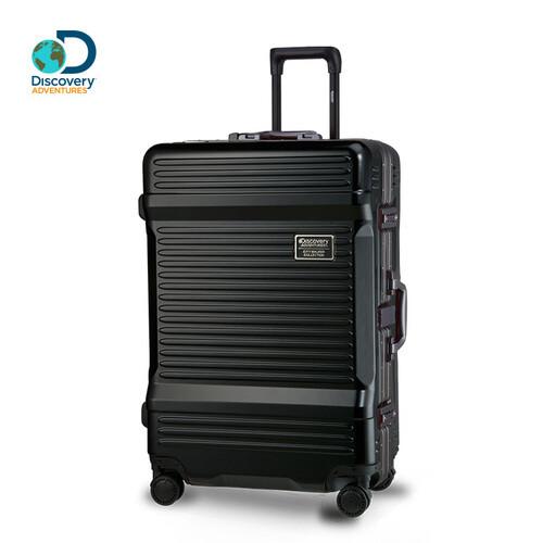 Discovery Adventures 工具箱鋁框28吋行李箱-磨砂黑 - 松果購物
