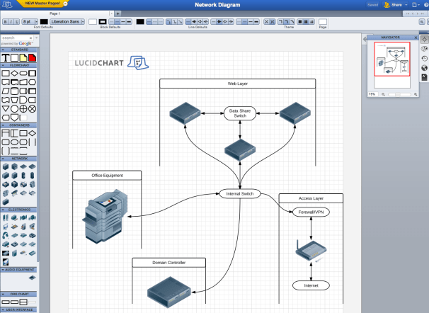 LucidChart Steps Up Online Business Diagrams PCWorld