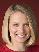 Google engineer Marissa Mayer.