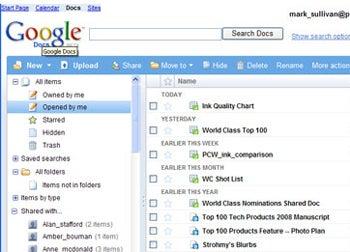 ظاهر قبلی Google Docs
