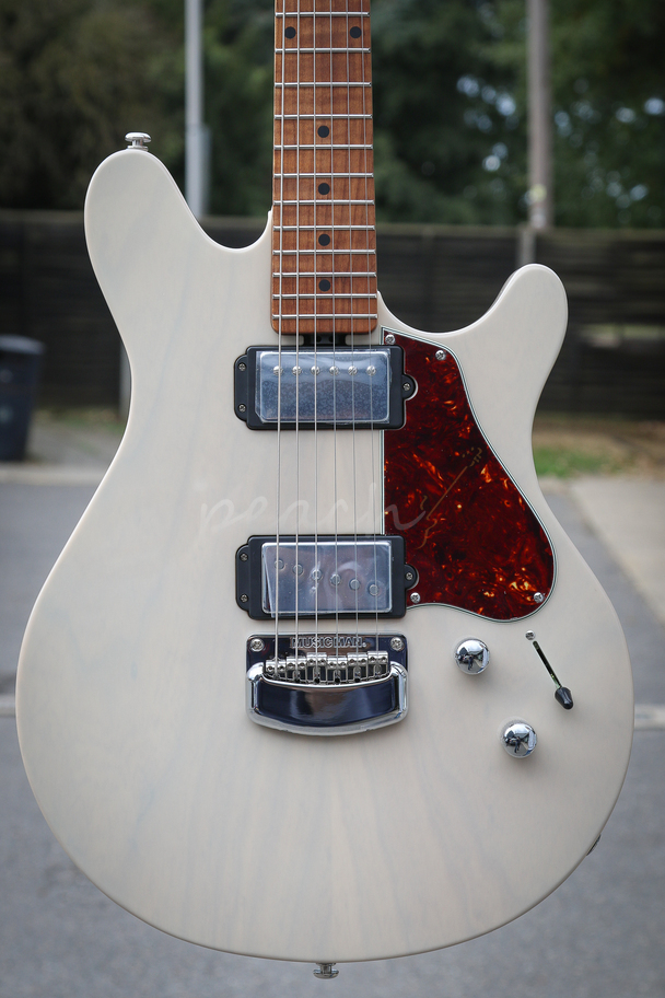 Ernie Ball Music Man Valentine Buttermilk Peach Guitars