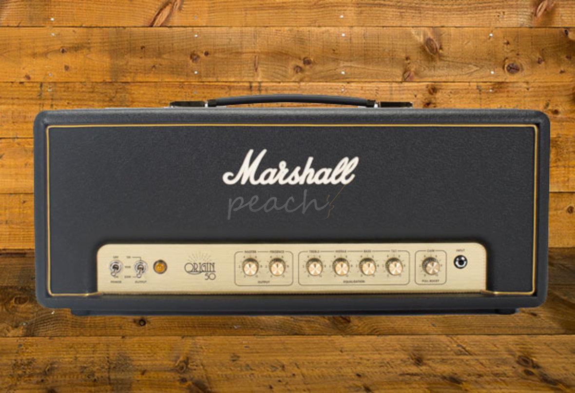 Marshall Origin 50w Head  Peach Guitars