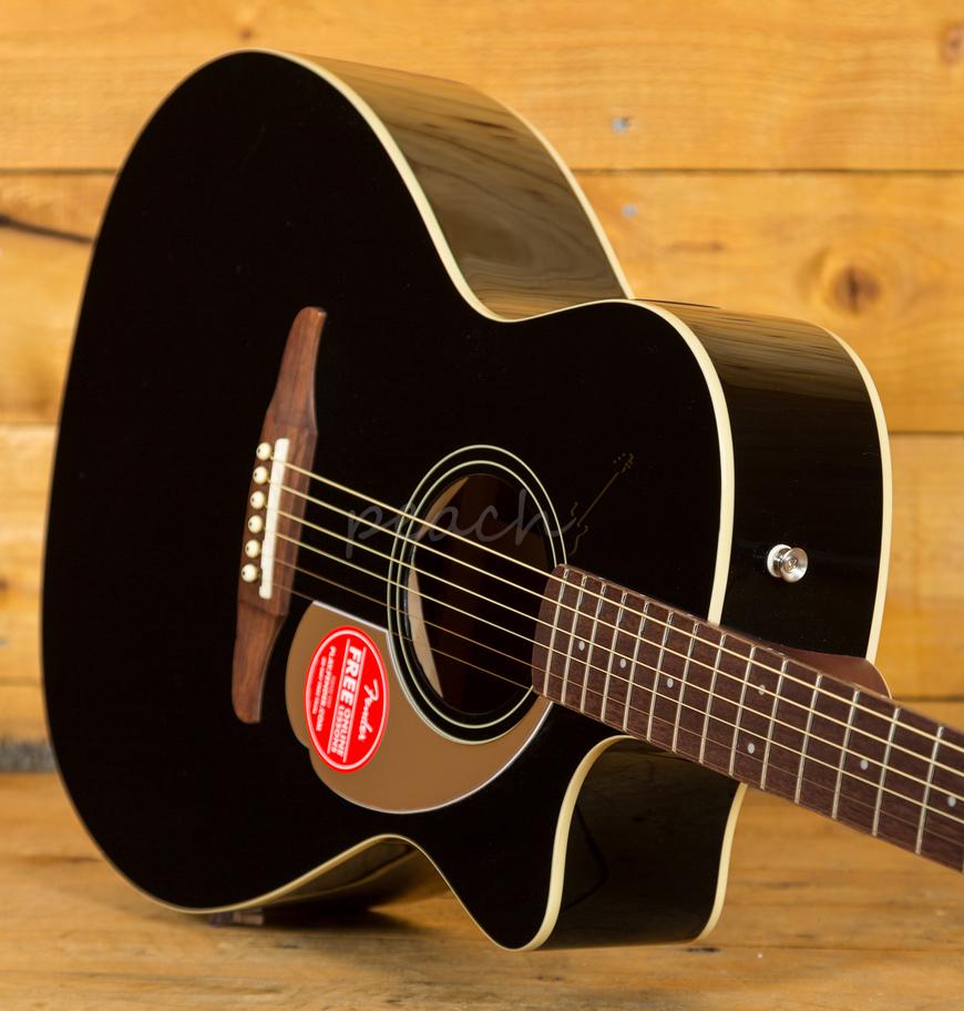 Fender Newporter Player Jetty Black - Peach Guitars