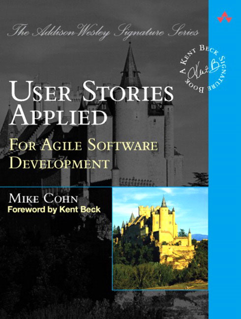User Stories Applied (Mike Cohn)
