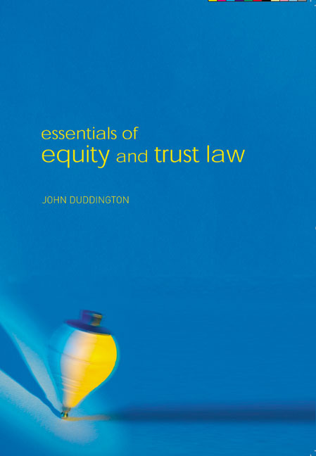 Pearson Education  Essentials Of Equity And Trusts Law