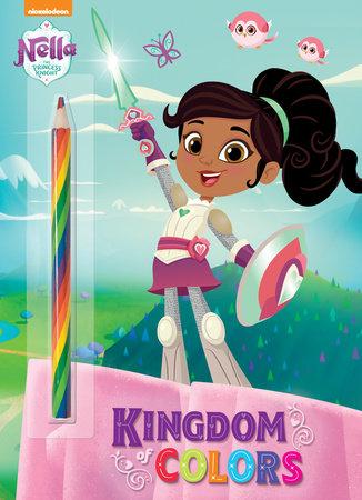 Nella The Princess Knight : nella, princess, knight, Kingdom, Colors, (Nella, Princess, Knight), Golden, Books:, 9780525580164, PenguinRandomHouse.com:, Books