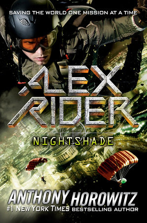 Never Say Die Alex Rider : never, rider, Nightshade, Anthony, Horowitz:, 9780593115312, PenguinRandomHouse.com:, Books