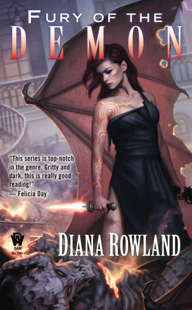 Fury Of The Demon By Diana Rowland PenguinRandomHouse Com