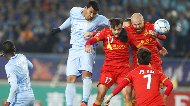 Adelaide United fell to a 2-1 loss to Jiangsu Suning in the ACL on Wednesday night.