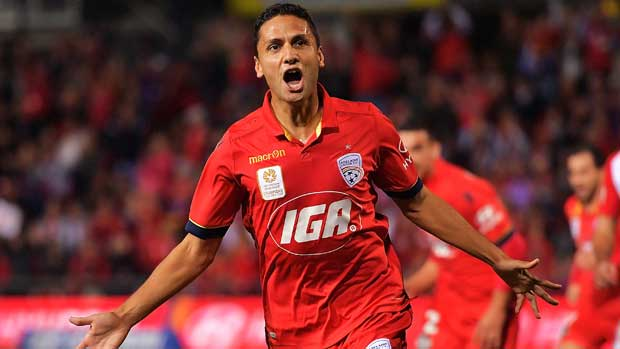 Former Adelaide United midfielder Marcelo Carrusca has officially become an Australian citizen.