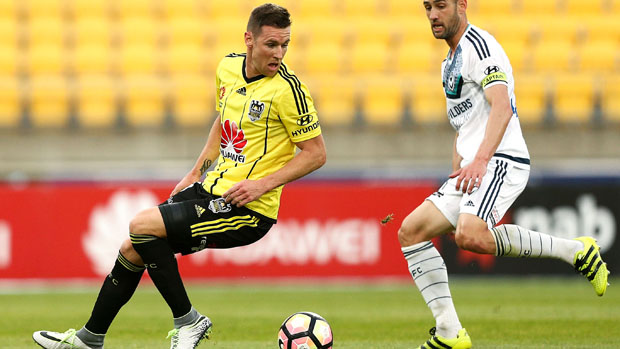 Shane Smeltz has left Wellington Phoenix for Indonesia.