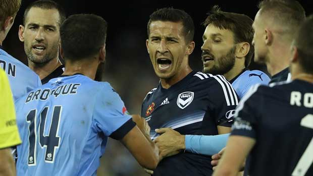 Daniel Georgievski will leave Melbourne Victory to join Newcastle Jets next season.