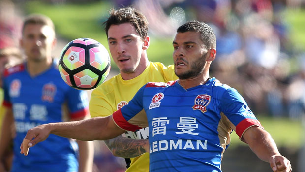 Newcastle Jets and Central Coast Mariners finished all square in a 1-1 draw at McDonald Jones Stadium.