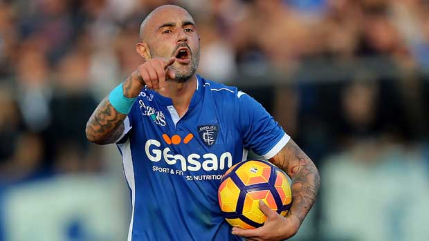 Brisbane Roar have signed former Italian international Massimo Maccarone on a marquee deal.